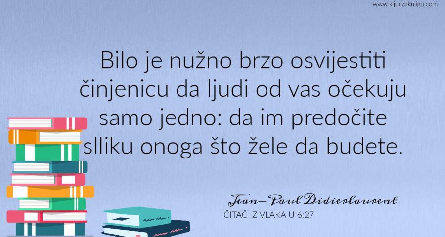 Jean-Paul Didierlaurent Čitač iz vlaka u 6:27 recenzija
