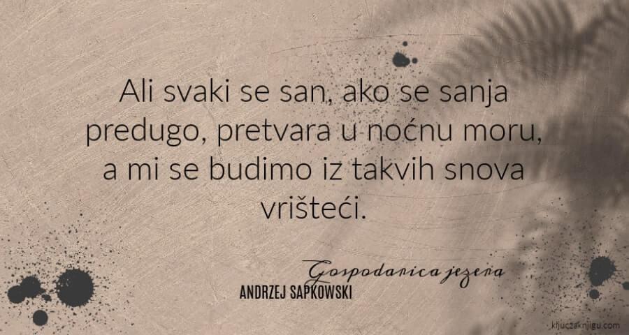 Andrzej Sapkowski Gospodarica jezera Saga o Vješcu
