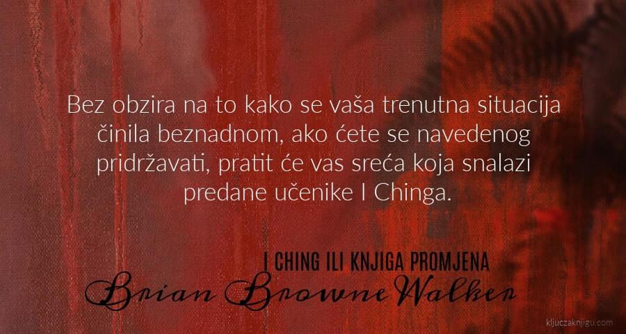 Brian Browne Walker I ching ili knjiga promjena recenzija