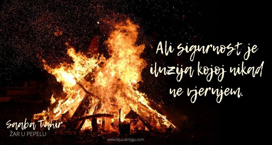 Žar u pepelu